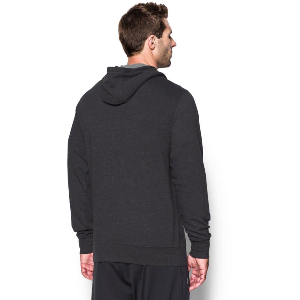 UNDER ARMOUR Men's Sportstyle Fleece Graphic Hoodie - ASPHALT HTHR-005