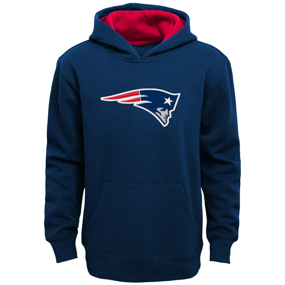 NEW ENGLAND PATRIOTS Kids' Primary Pullover Hoodie - NAVY