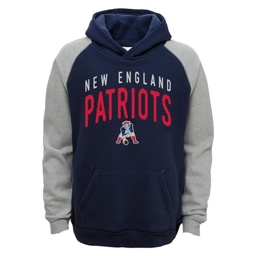 NEW ENGLAND PATRIOTS Boys' Foundation Hoodie - NAVY