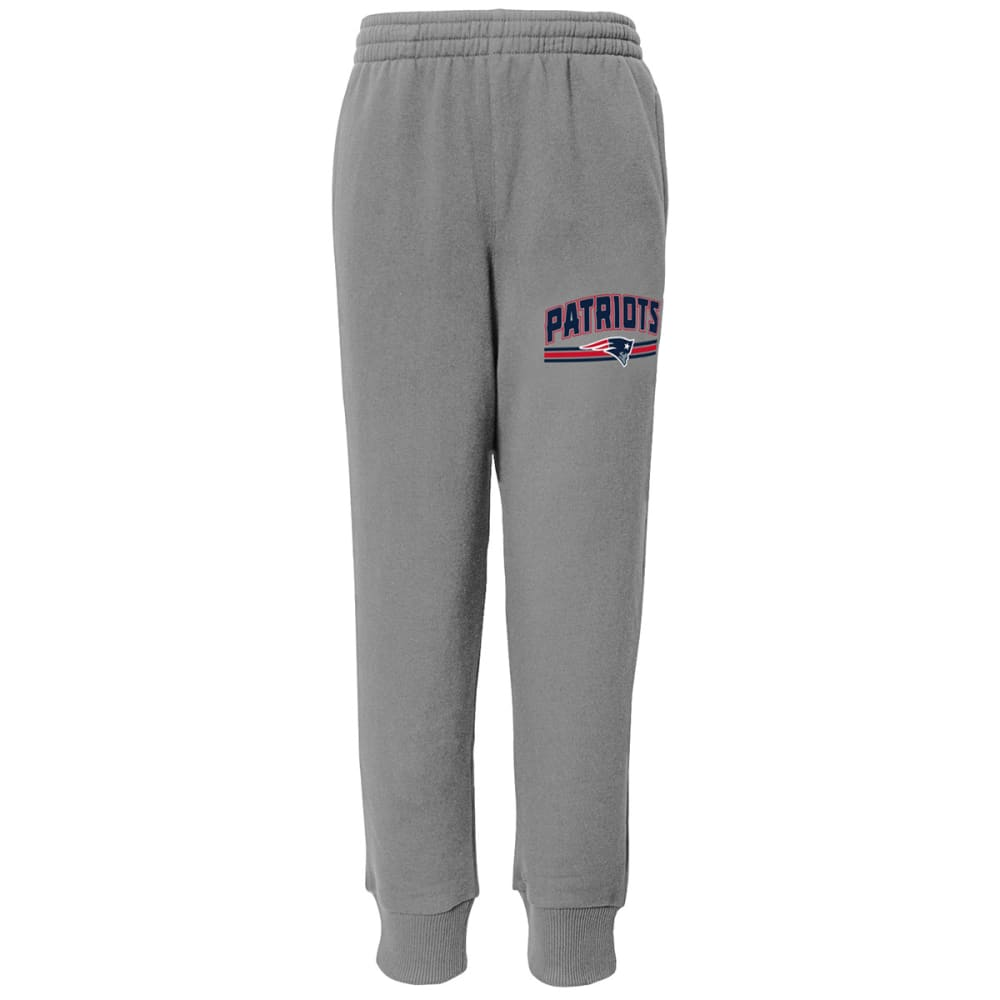 NEW ENGLAND PATRIOTS Boys' Club Cuffed Pants - GREY