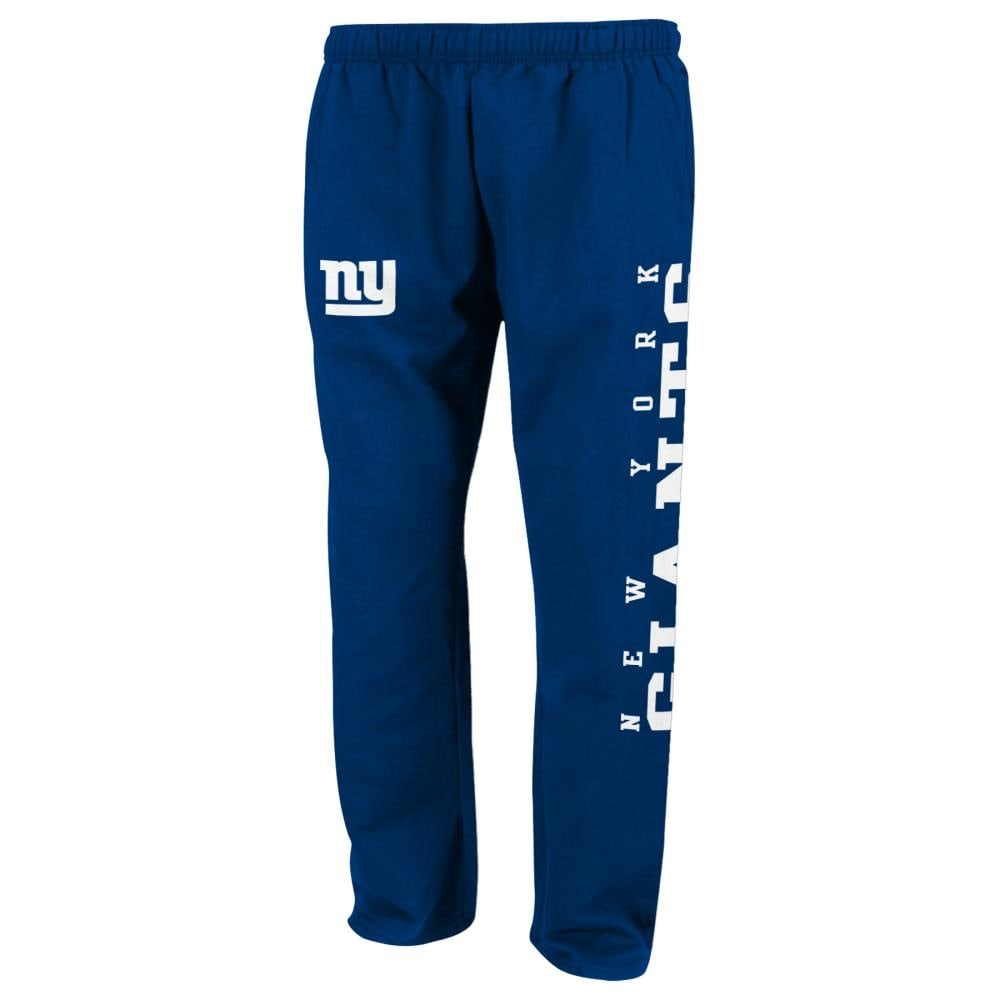 NEW YORK GIANTS Boys' Tailgate Fleece Pants - ROYAL BLUE
