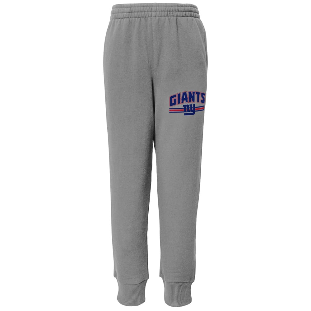 NEW YORK GIANTS Boys' Club Cuffed Pants - GREY