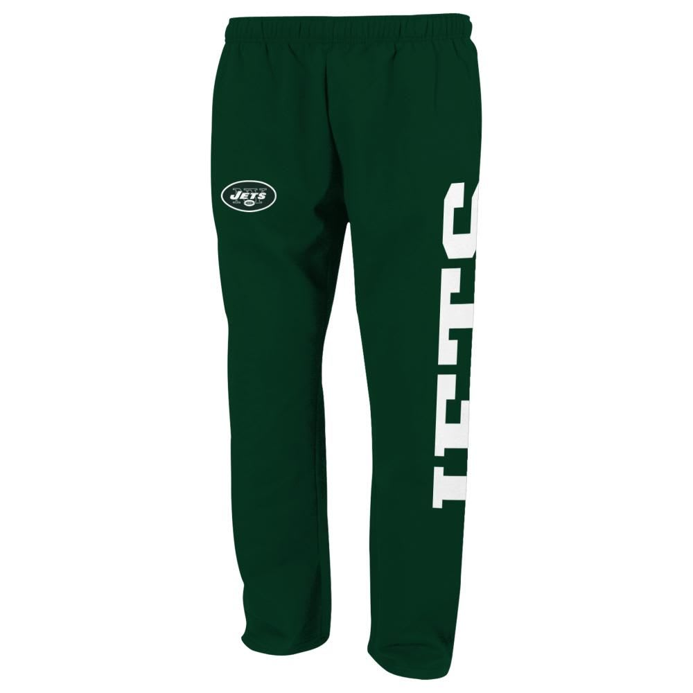 NEW YORK JETS Boys' Tailgate Fleece Pants - GREEN