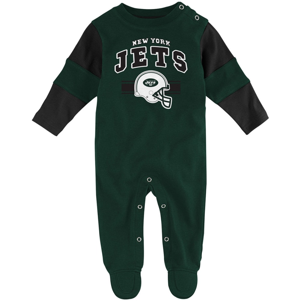 NEW YORK JETS Infant Boys' Team Believer Coveralls 0-3M