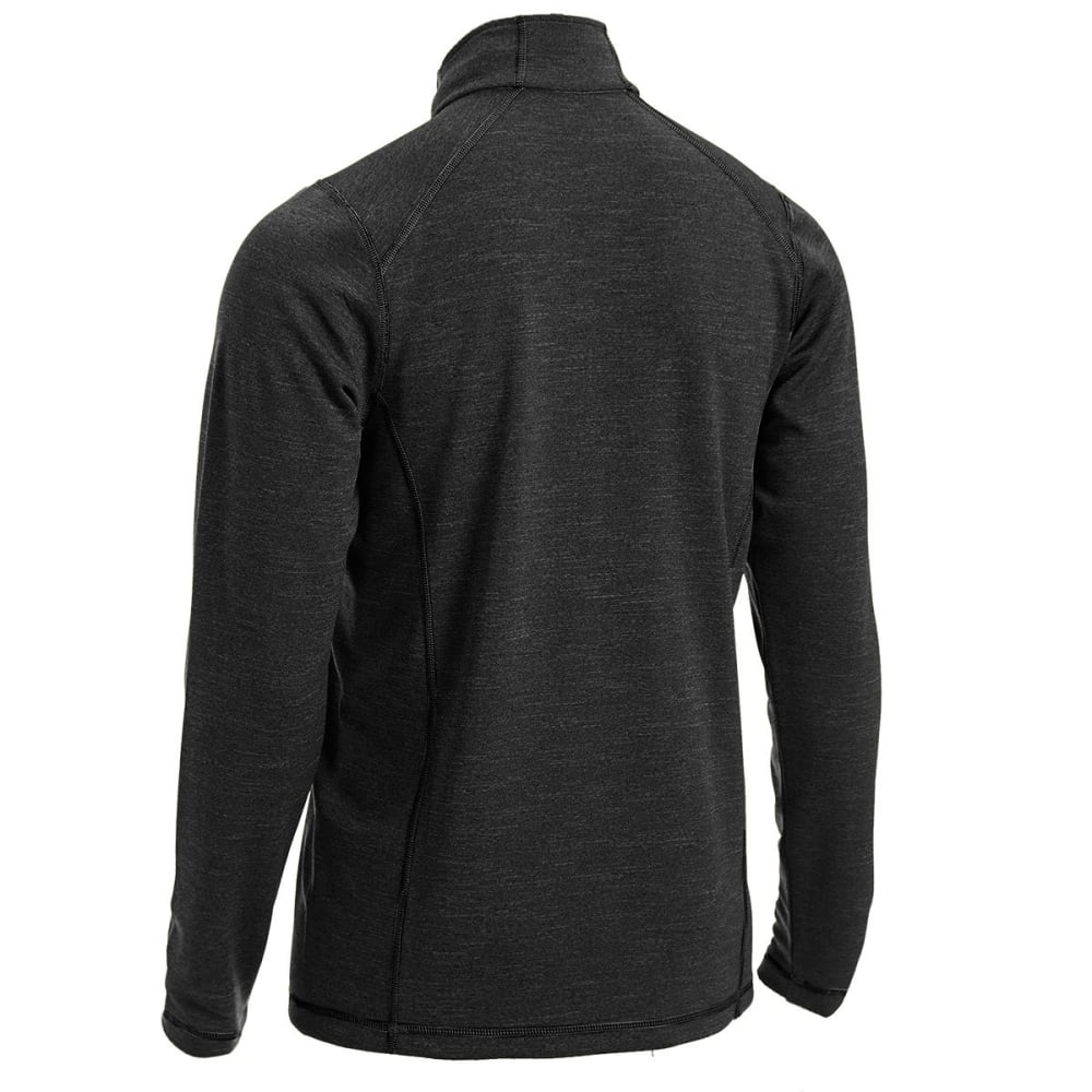 EMS Men's Techwick Dual Thermo Half Zip - JET BLACK