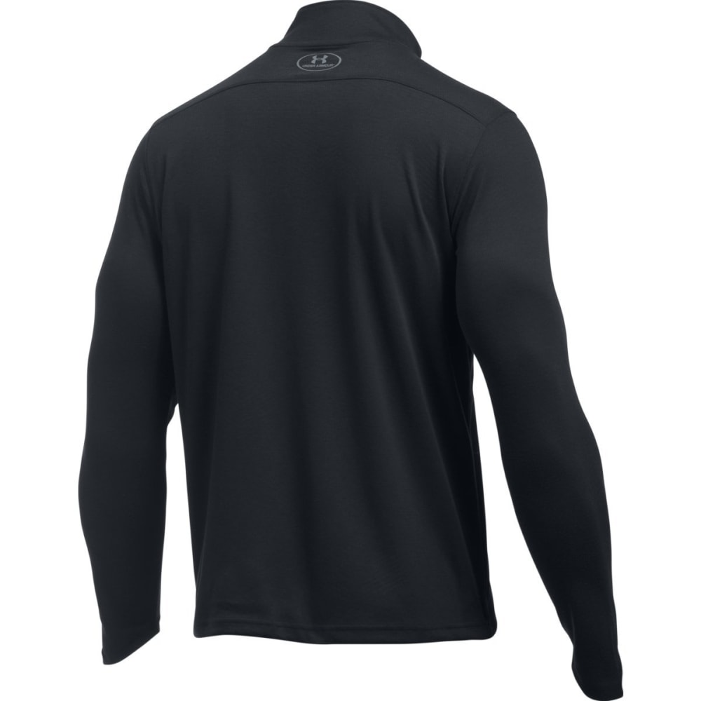 UNDER ARMOUR Men's ColdGear Infrared Lightweight ¼-Zip Pullover - BLACK/STEEL-001