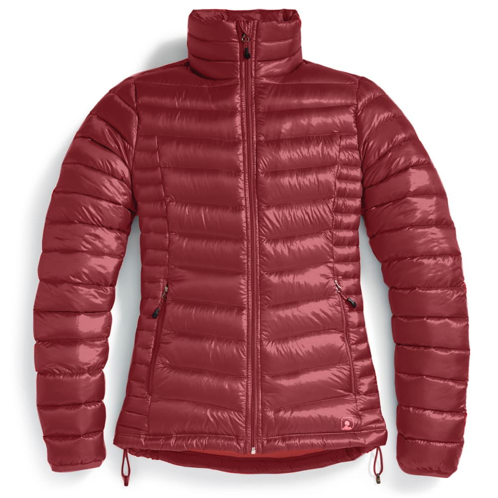 EMS® Women's Feather Pack Jacket - BRICK RED
