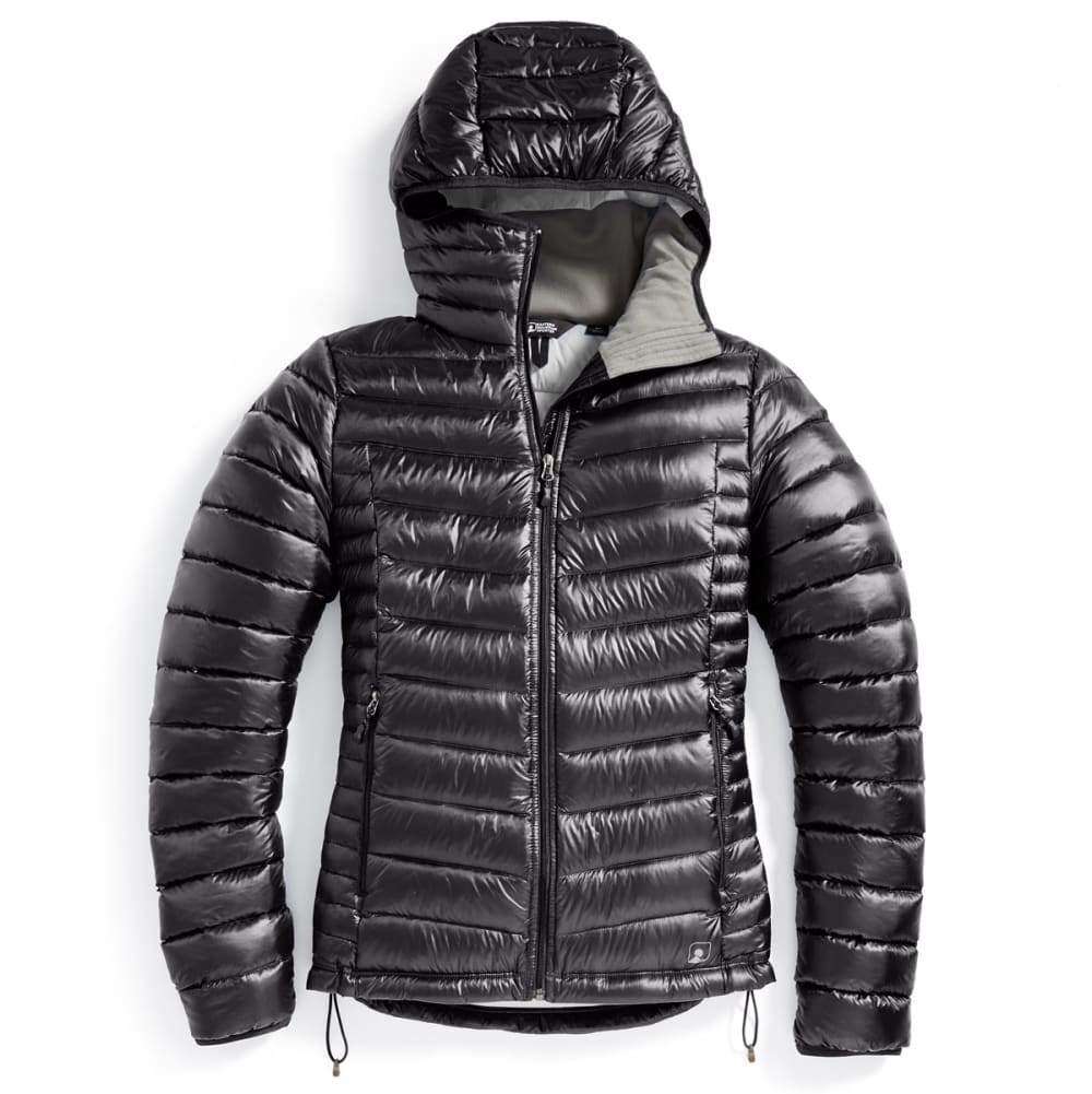 Ems(R) Women's Feather Pack Hooded Jacket - Black, L
