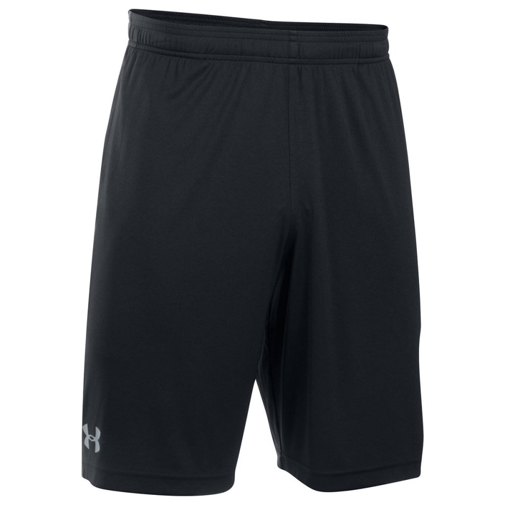 UNDER ARMOUR Men's UA Tech Graphic Shorts - BLACK/STEEL-002