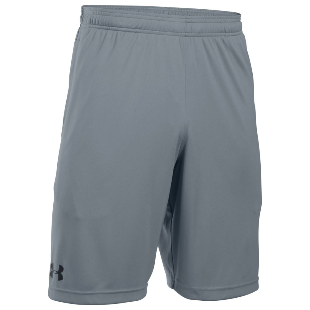 UNDER ARMOUR Men's UA Tech Graphic Shorts - STEEL/BLACK-035