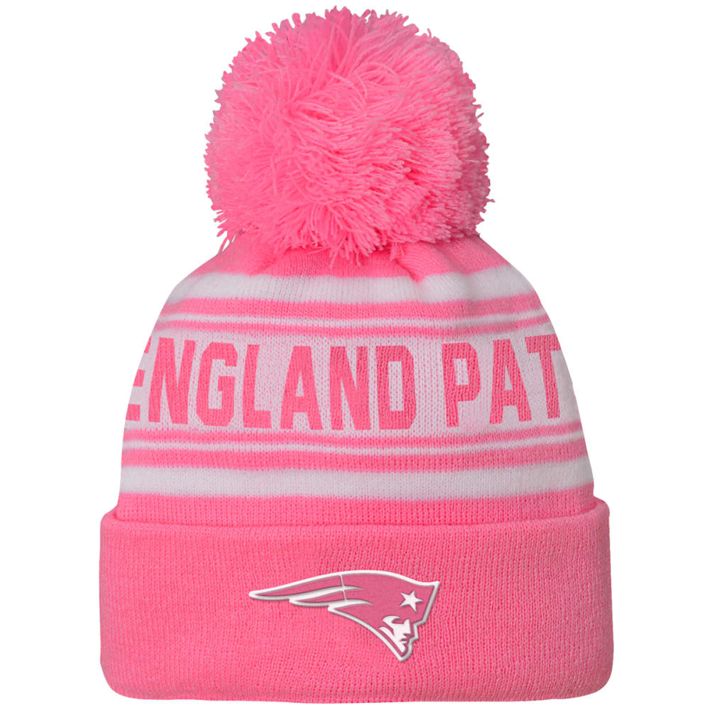 NEW ENGLAND PATRIOTS Girls' Prime Beanie - PINK