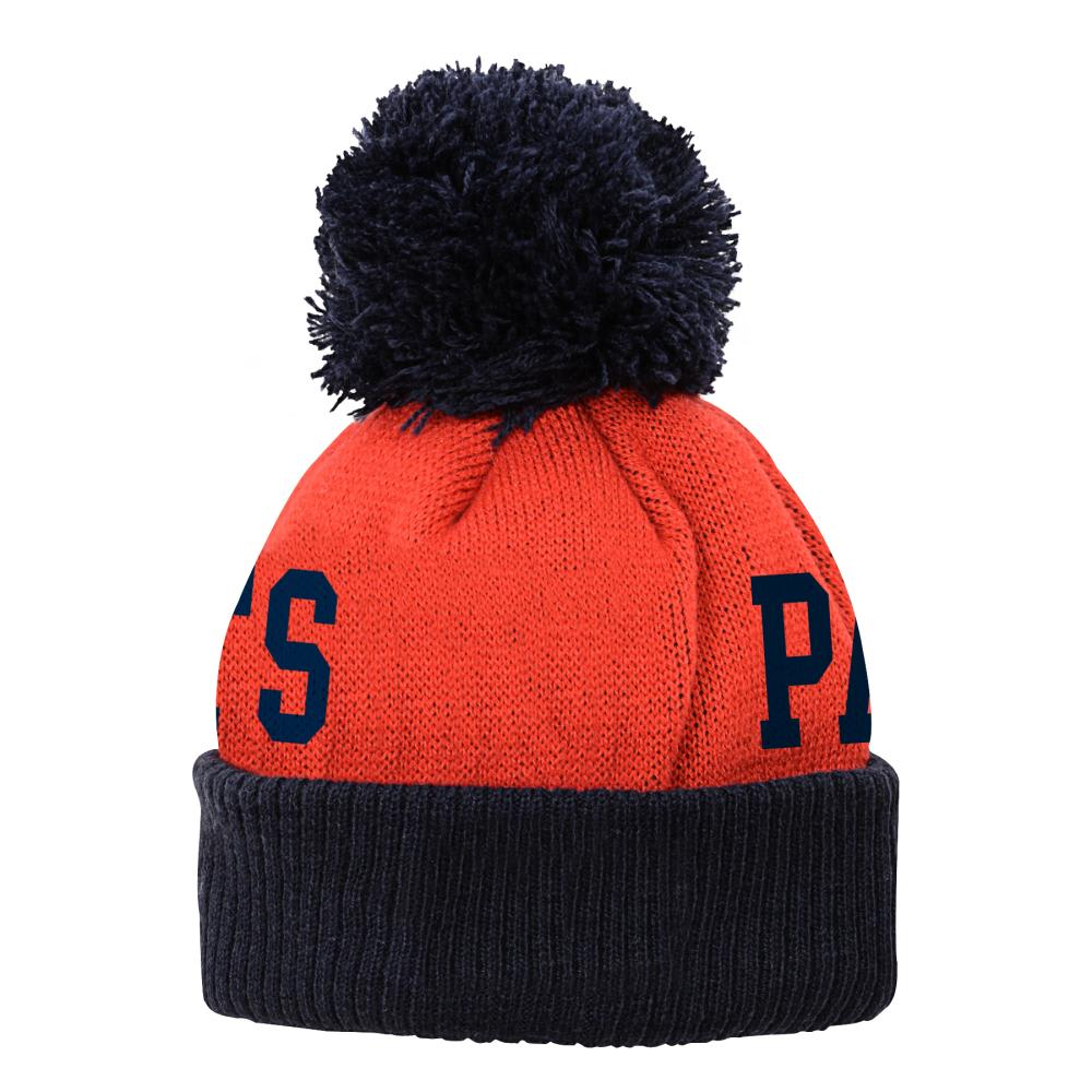 NEW ENGLAND PATRIOTS Kids' Team Property 4-7 Knit Hat - RED/NAVY