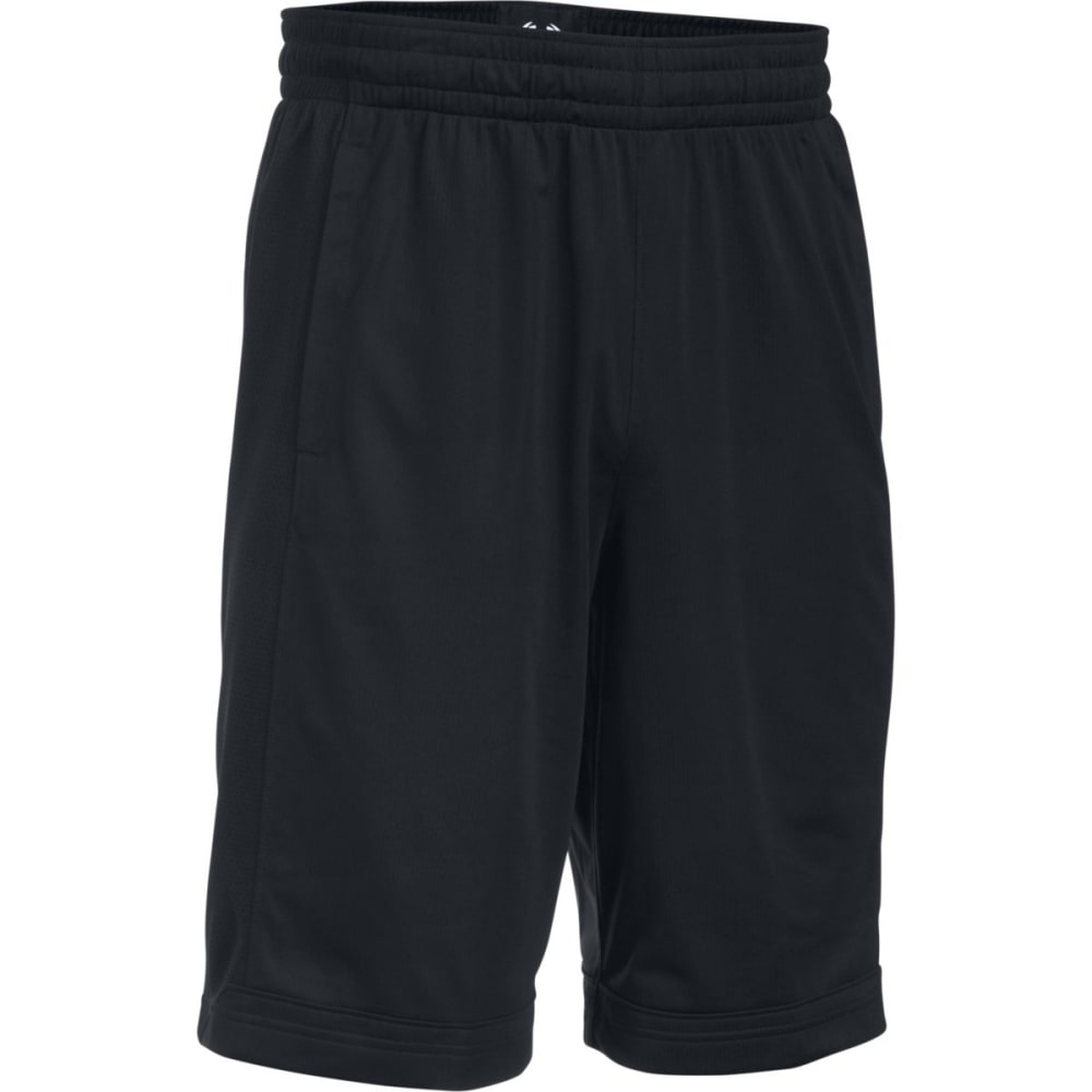 UNDER ARMOUR Men's Isolation Basketball Shorts - BLACK-001