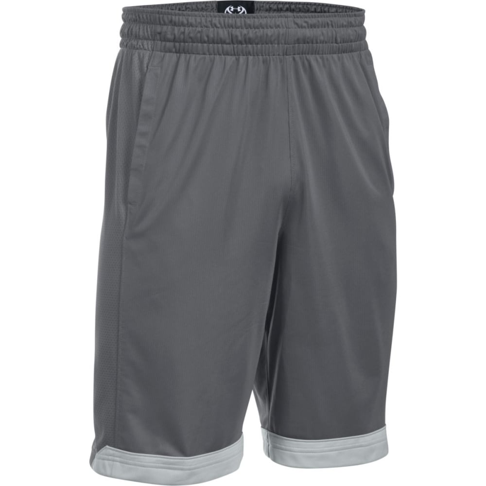 Under Armour Men's Isolation Basketball Shorts - Black, S