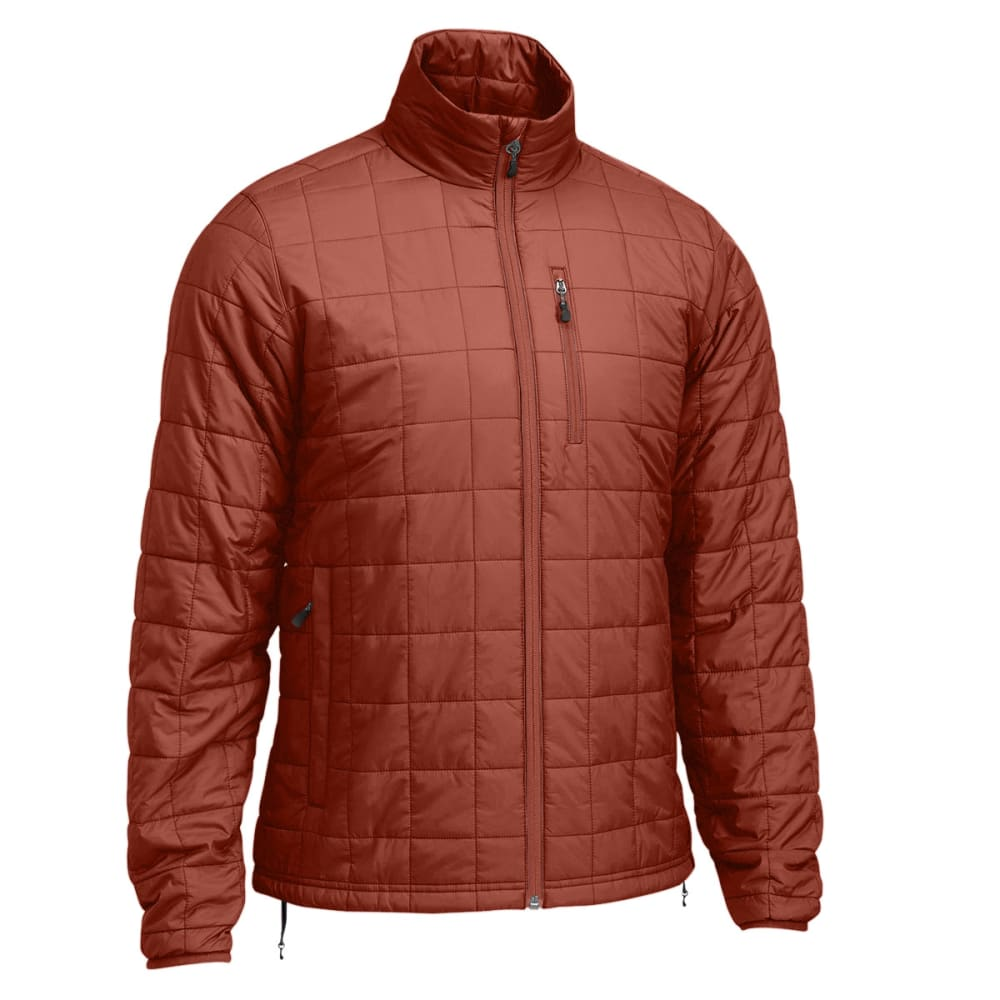 EMS Men's Prima Pack Insulator Jacket - RUSSET BROWN/SEAL