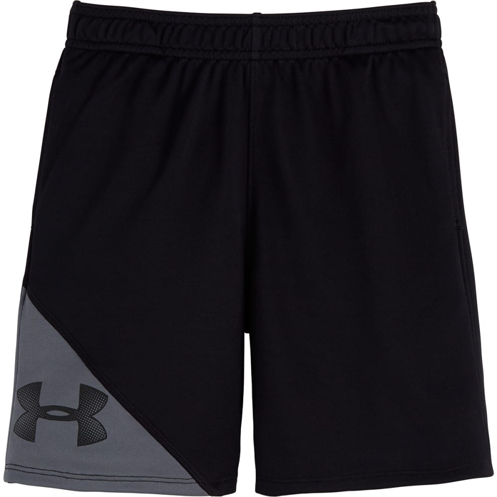 UNDER ARMOUR Boys' 4-7 Prototype Shorts - BLACK/GRAPH-01