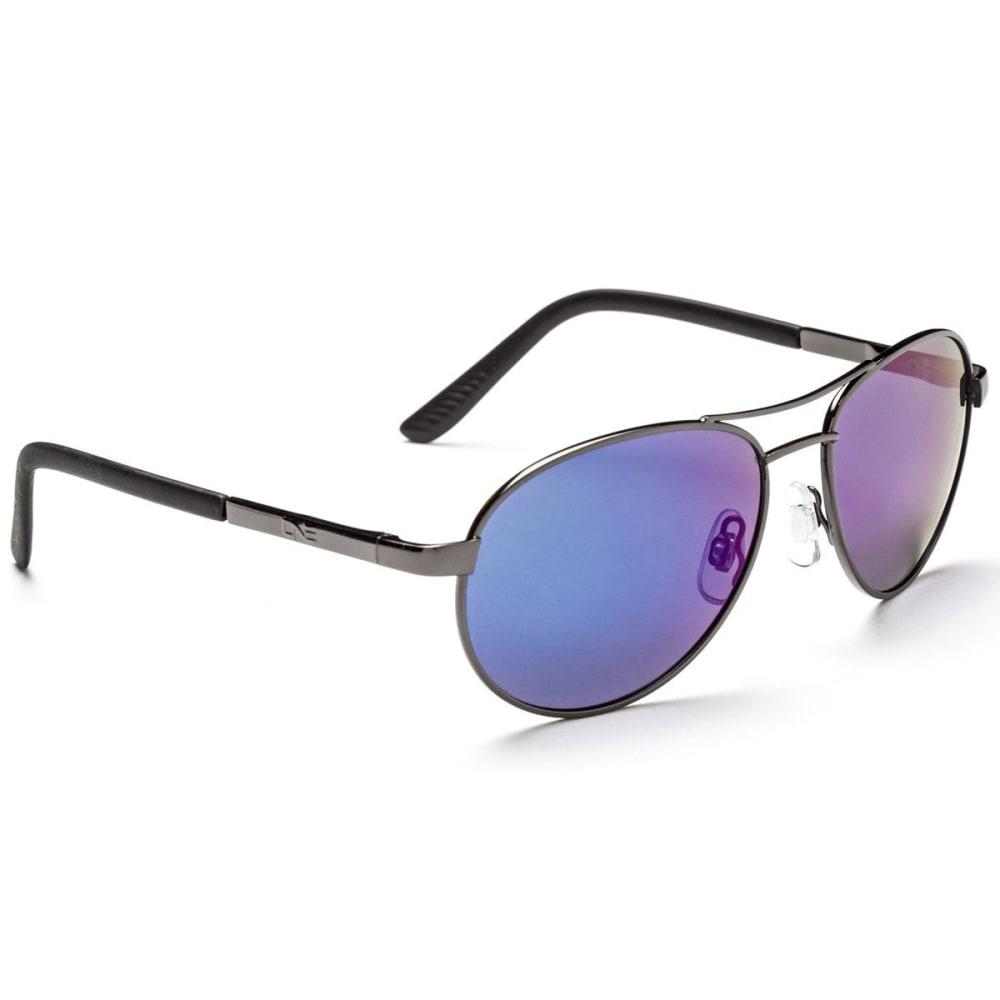 ONE BY OPTIC NERVE Women's Siren Polarized Sunglasses, Gunmetal - GUNMETAL