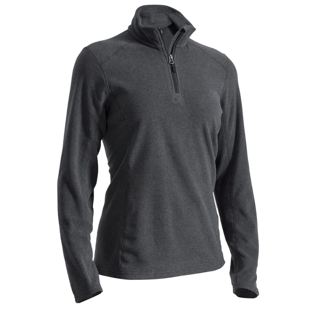Ems(R) Women's Classic Micro Fleece  1/4 Zip - Black, L