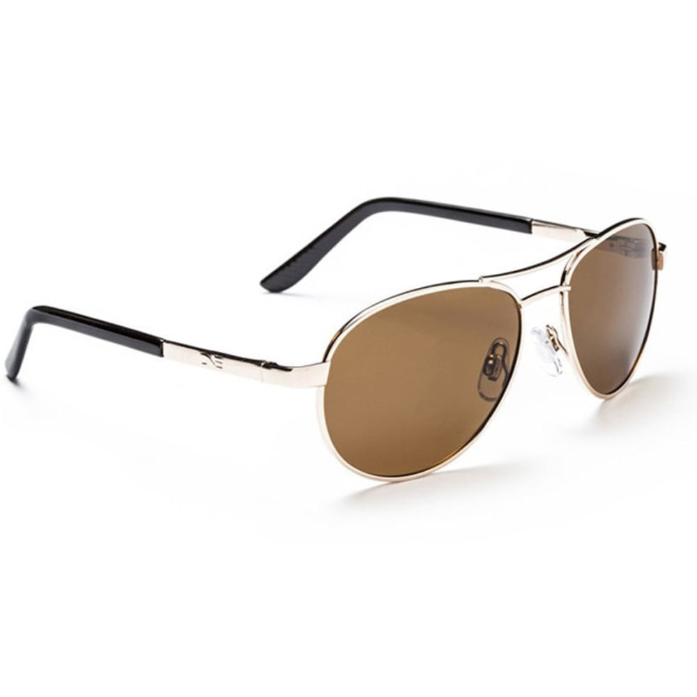 OPTIC NERVE Siren Polarized Sunglasses - GOLD