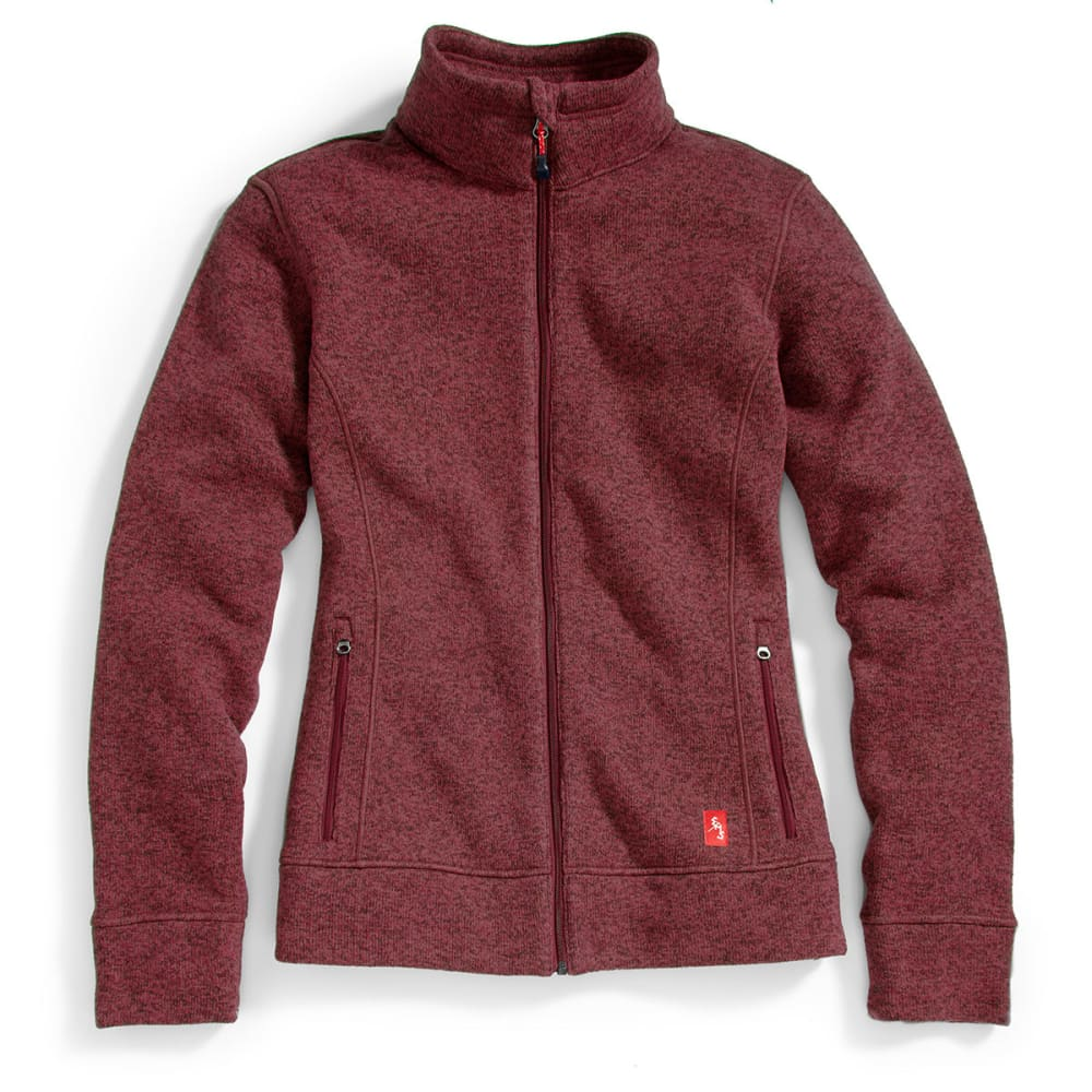 EMS® Women's Roundtrip Full-Zip Jacket - WINETASTING HEATHER