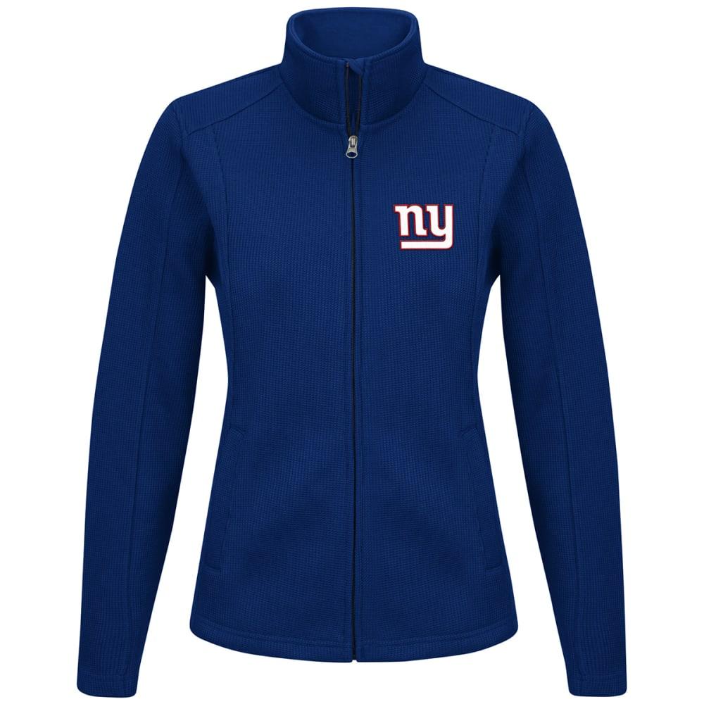 NEW YORK GIANTS Women's Blind Side Full-Zip Jacket - ROYAL BLUE