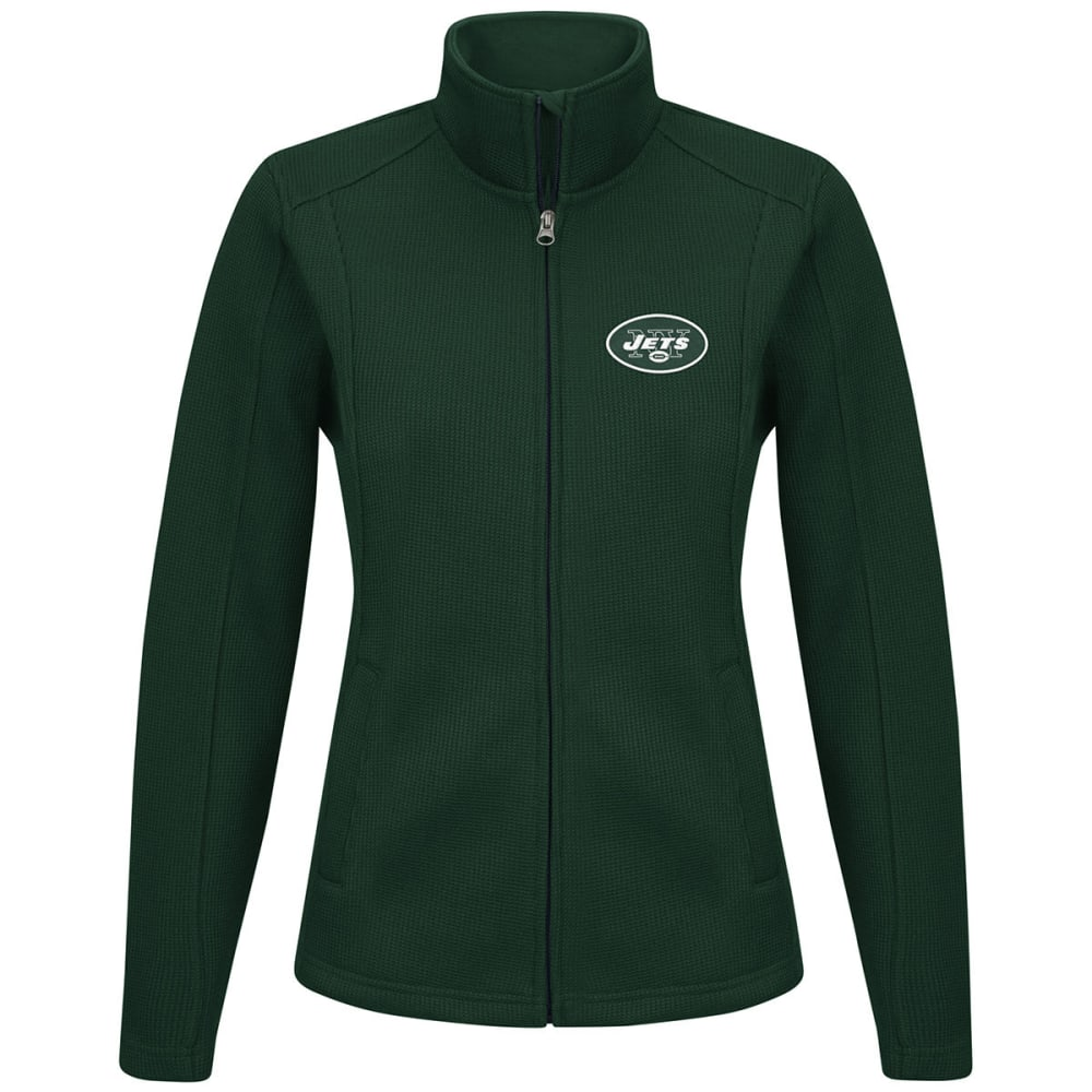 NEW YORK JETS Women's Blind Side Full-Zip Jacket - GREEN