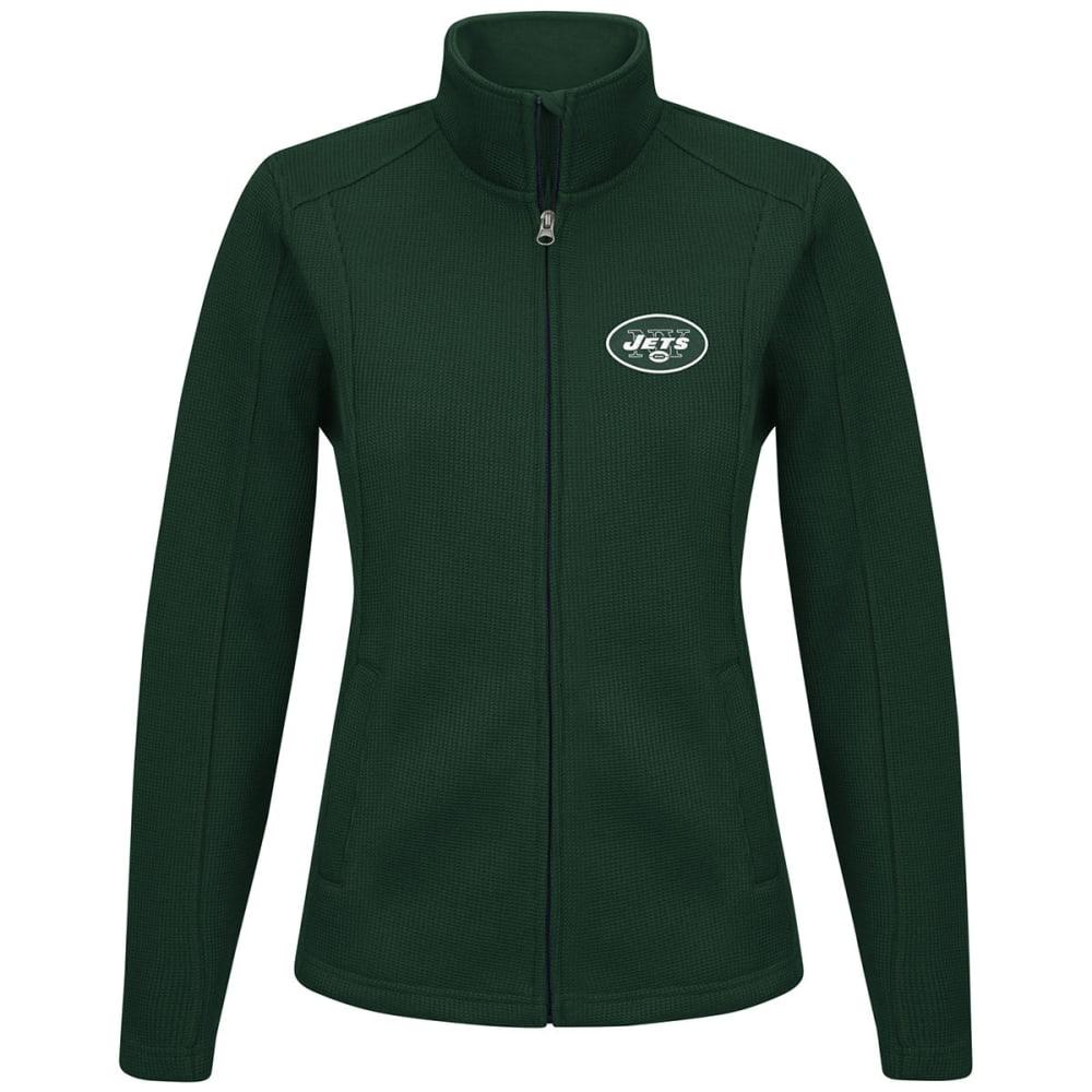 NEW YORK JETS Women's Blind Side Full-Zip Jacket - GREEN