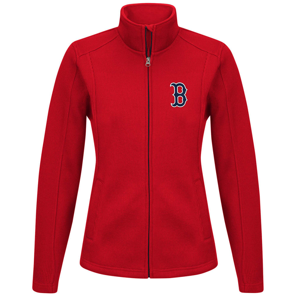 BOSTON RED SOX Women's Blind Side Full-Zip Jacket - RED