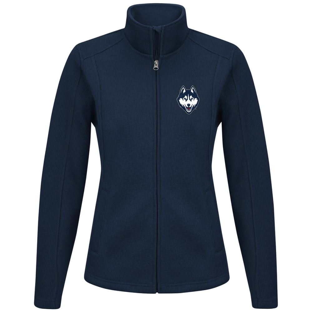 Uconn Women's Blind Side Full-Zip Jacket - Blue, L