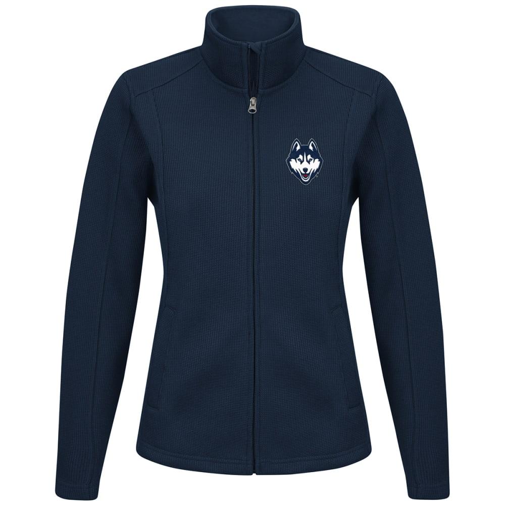 UCONN Women's Blind Side Full-Zip Jacket - NAVY
