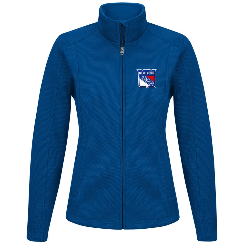 NEW YORK RANGERS Women's Blind Side Full-Zip Jacket - ROYAL BLUE