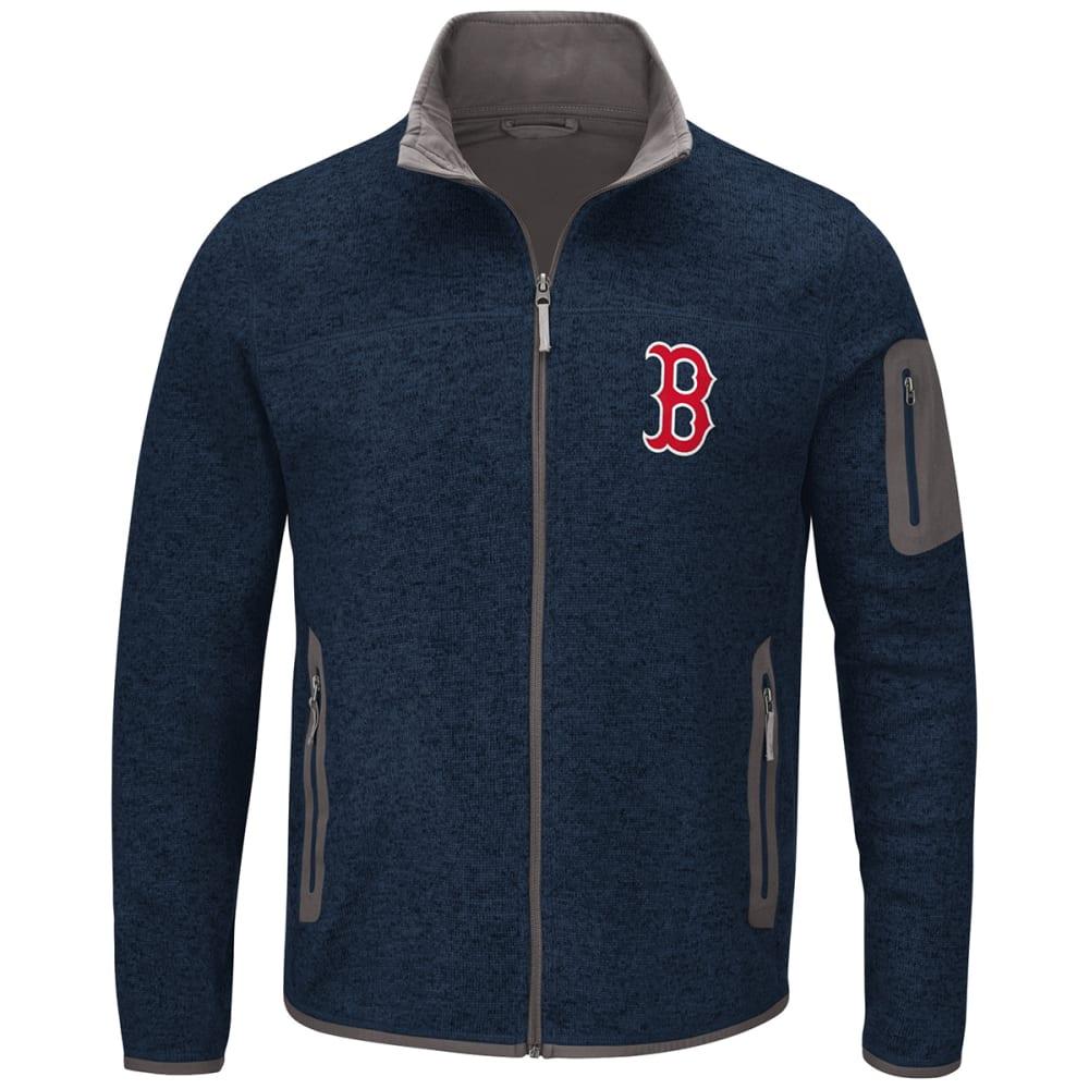 BOSTON RED SOX Men's Campfire Full-Zip Jacket - DARK NAVY