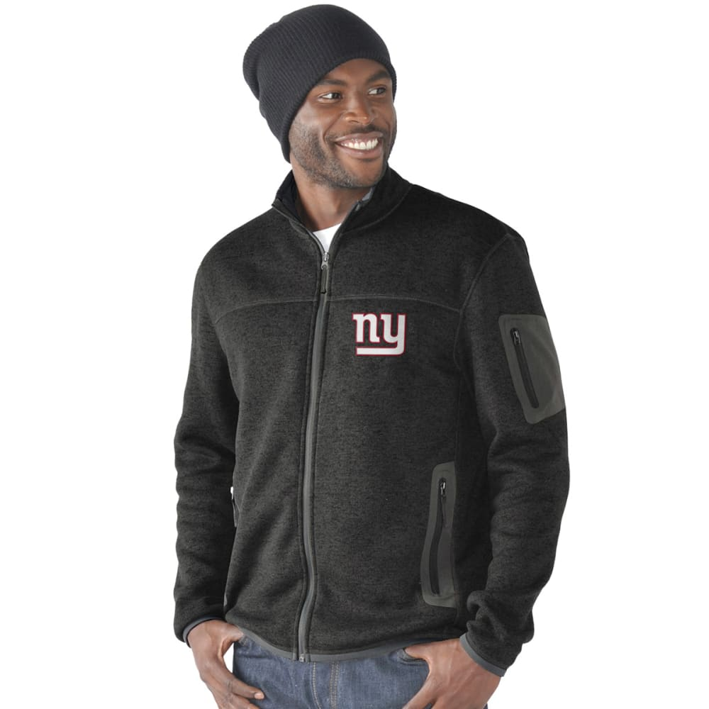 NEW YORK GIANTS Men's Campfire Full-Zip Jacket - CHARCOAL