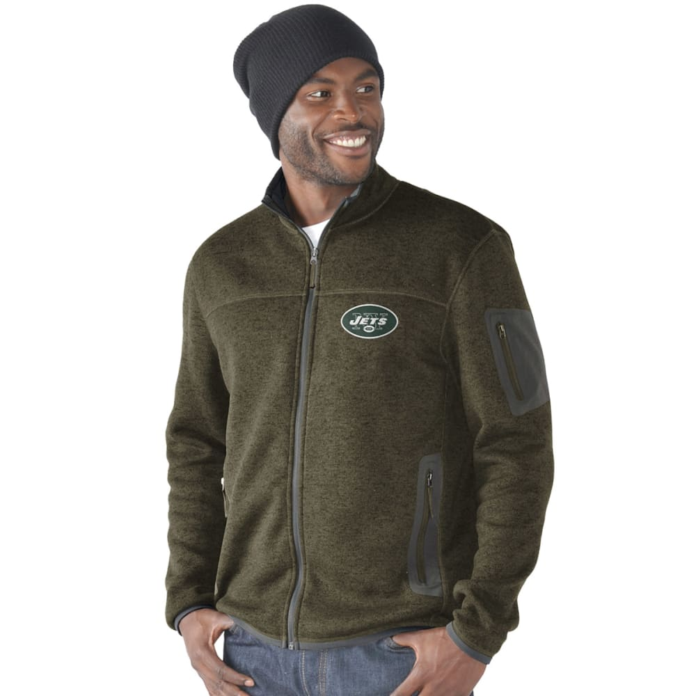 NEW YORK JETS Men's Campfire Full-Zip Jacket - GREEN