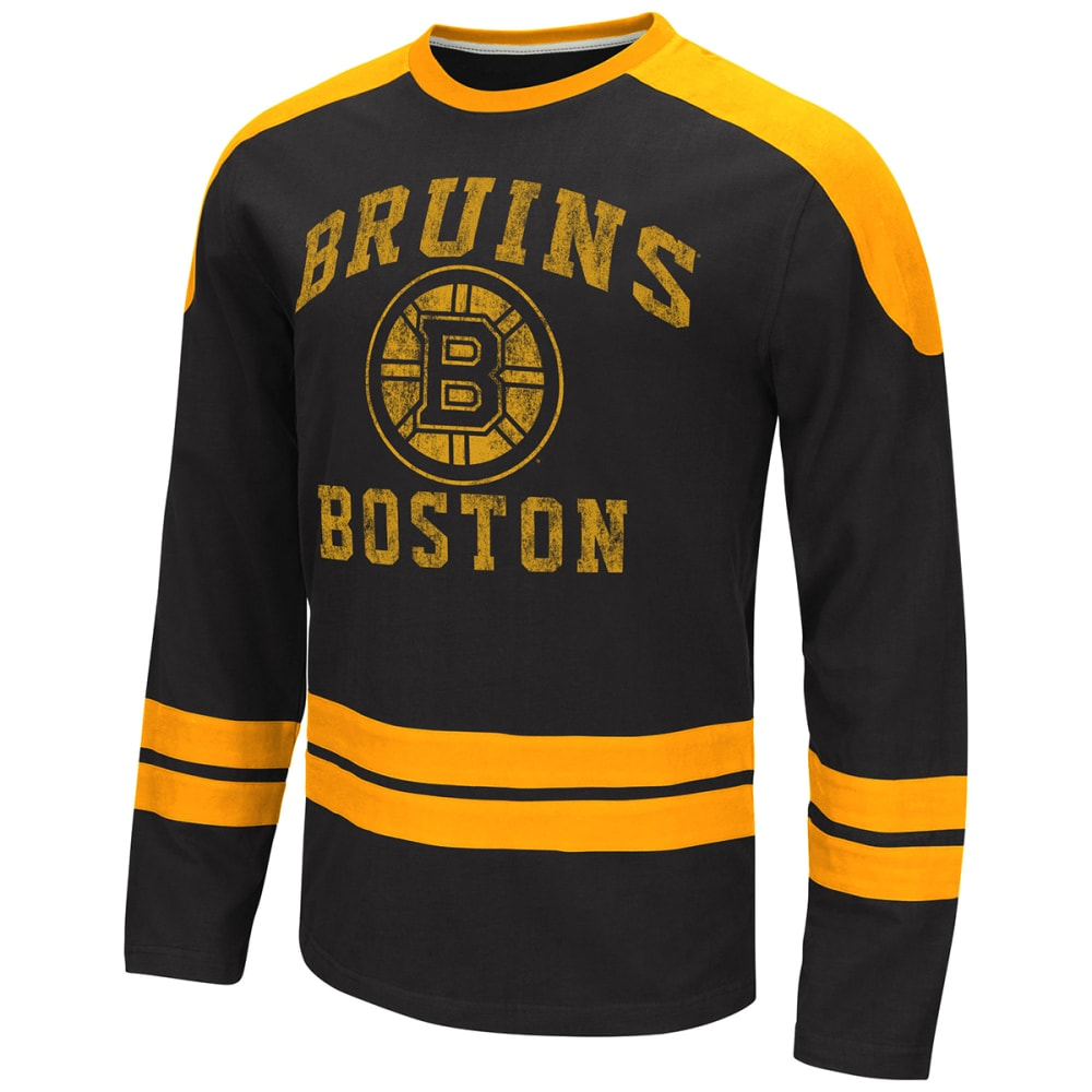 BOSTON BRUINS Men's Opponent Long-Sleeve Tee - BLACK