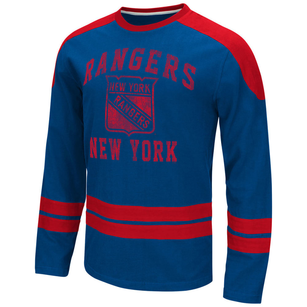 NEW YORK RANGERS Men's Opponent Long-Sleeve Tee - ROYAL