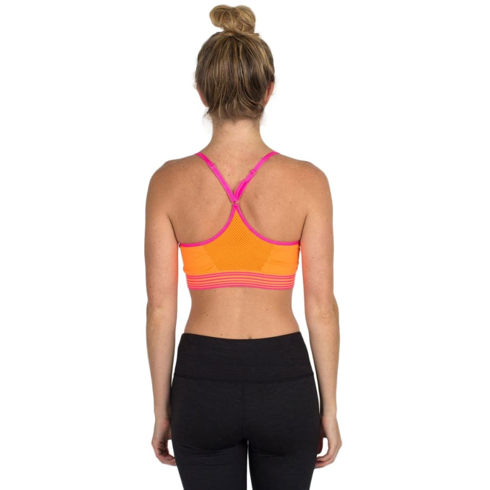 RBX Women's Seamless Sports Bra - ORNGE SLICE-A