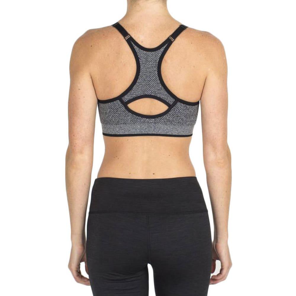 RBX Women's Seamless Sports Bra - CHRCL HTHR-A