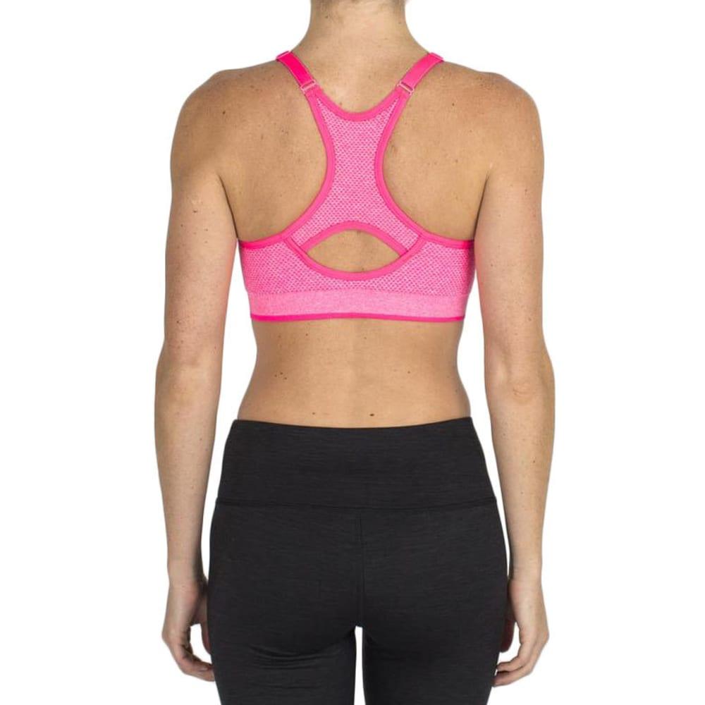 RBX Women's Seamless Sports Bra - HIBISCUS HTHR-B