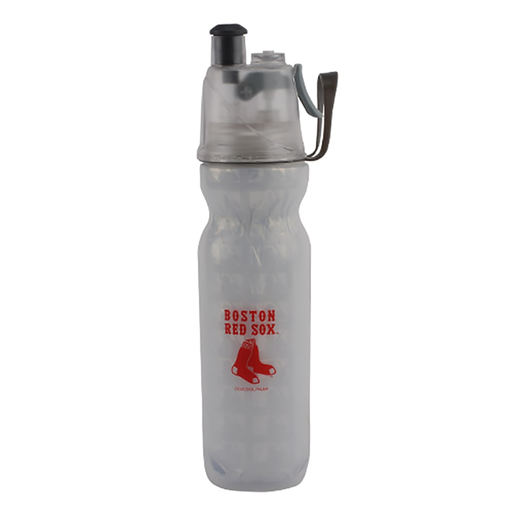 BOSTON RED SOX Arctic Squeeze Mist 'N Sip Bottle - WHITE