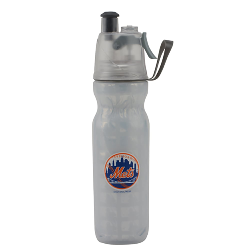 NEW YORK METS Arctic Squeeze Mist 'N Sip Bottle - WHITE