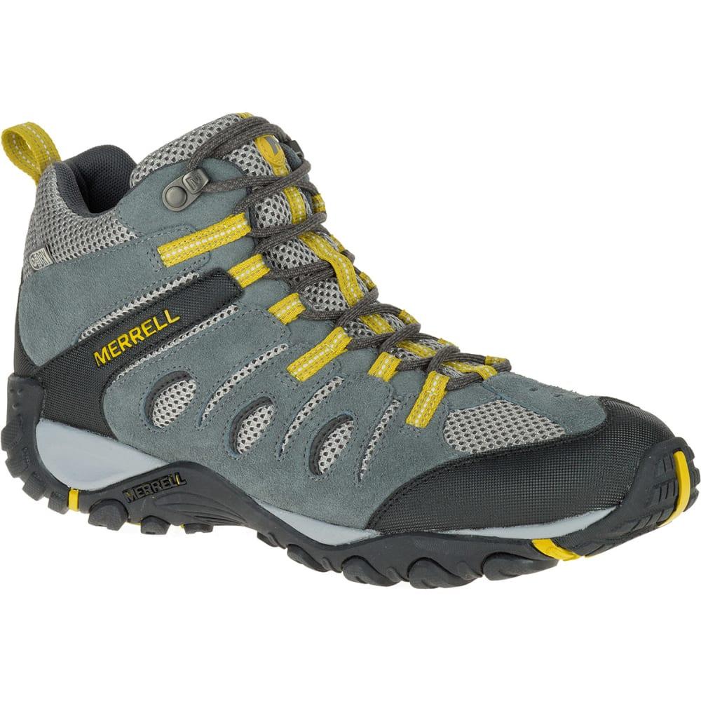 Merrell Men's Onvoyer Mid Waterproof Hiking Boots - Black, 8