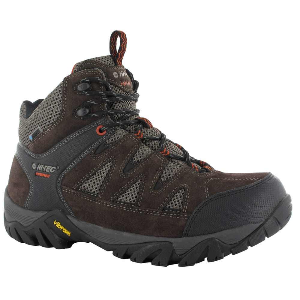 HI-TEC Men's Sonorous Mid WP Boots, Dark Chocolate/Red Rock - DK CHOCO/RED ROCK