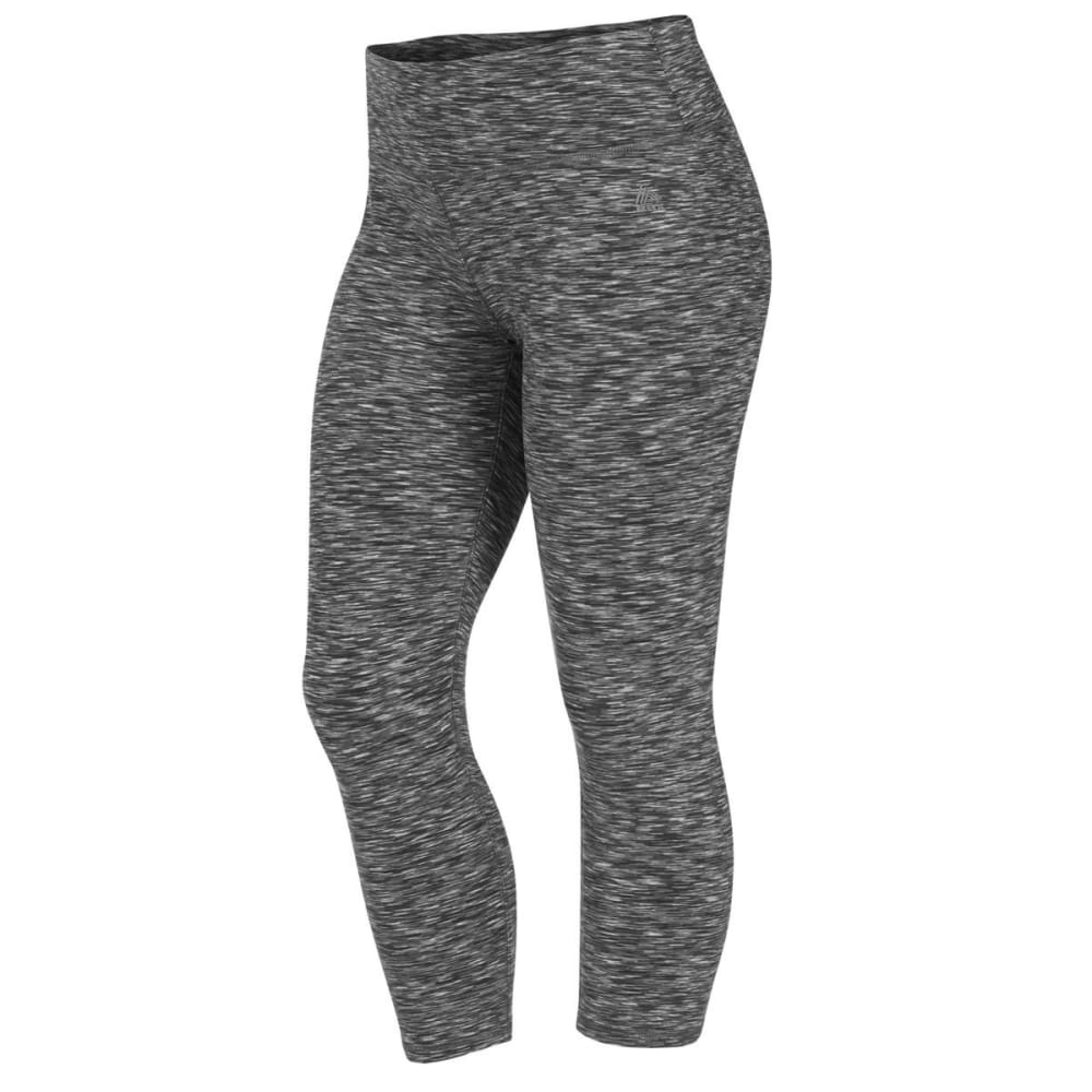 "RBX Women's 21"" Color Space Dye Leggings - BLACK COMBO-E"