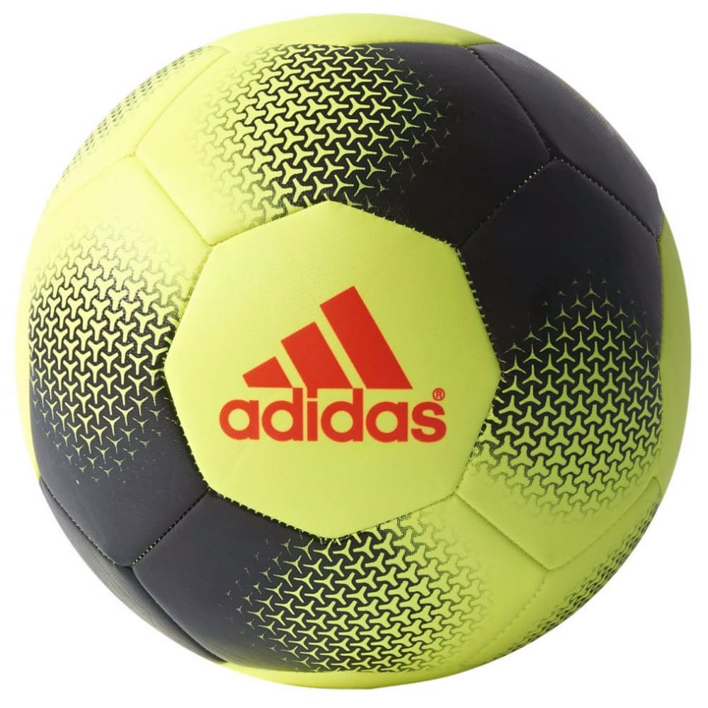 ADIDAS Ace Glider Soccer Ball - SLR YLLW/BLK/RED