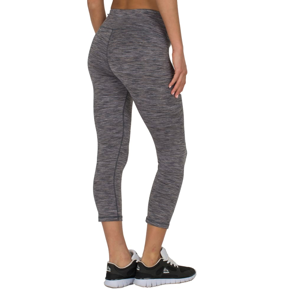 """RBX Women's 21"""" Speckled Peached Outside Leggings - GREY/COMBO-B"""