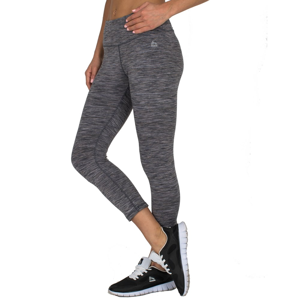 "RBX Women's 21"" Speckled Peached Outside Leggings - GREY/COMBO-B"