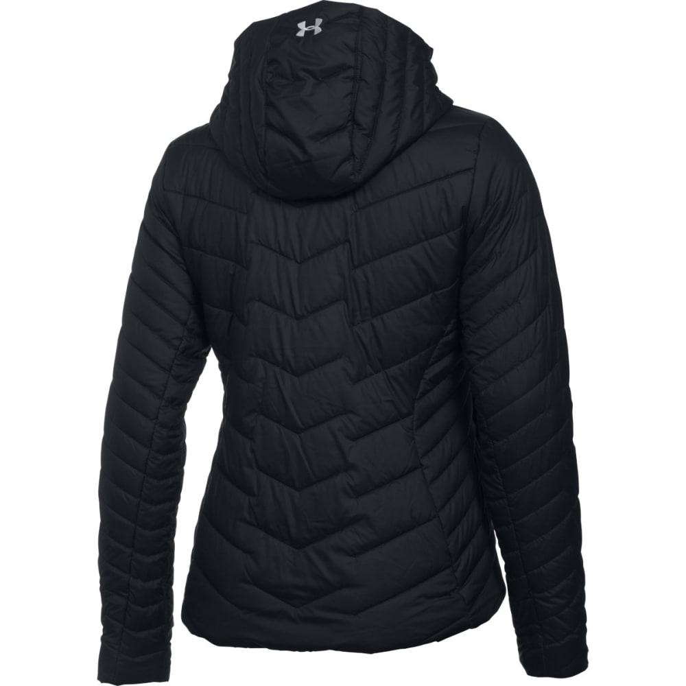 UNDER ARMOUR Women's ColdGear Reactor Hooded Jacket - -001 BLACK