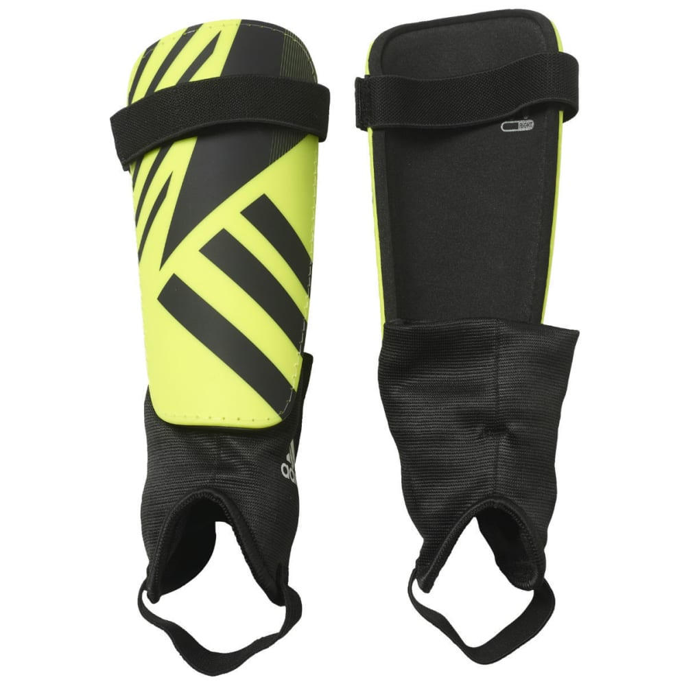 ADIDAS Adult F16 Ghost Club Shin Guards - SOLAR YELLOW/BLK