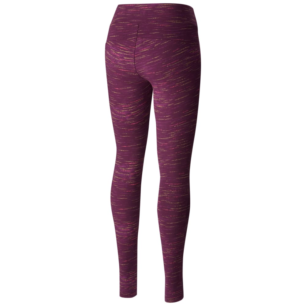 COLUMBIA Women's Anytime Casual Printed Leggings - 500 DUSTY PURPLE